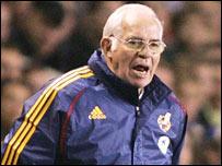 Spanish coach Luis Aragones