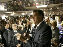 Mitt Romney in West Virginia, 5 Feb 2008