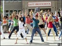 Scene from High School Musical 2