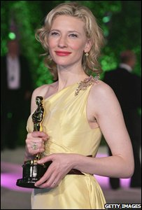 Cate Blanchett at the 2005 Vanity Fair party