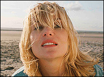 Emmanuelle Seigner in The Diving Bell and the Butterfly