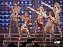 Spice Girls in London in 2007