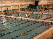 Bbc sport olympics olympic sport swimming leeds club rejuvenated by move for Swimming pools leeds city centre