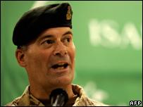 Canadian Major General Marc Lessard