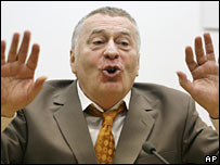 Vladimir Zhirinovsky. File photo