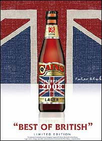The Best of British beer bottle