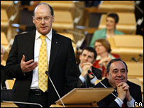 John Swinney and Alex Salmond