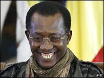 Idriss Deby, presidente de Chad