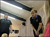Sue Dryden (left) and Rosina Matthews