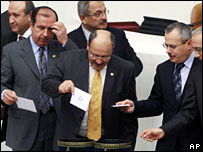 Turkish legislators vote on Wednesday 6 Feb 2008
