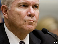 Robert Gates speaks to a Senate Committee (6 February 2008)