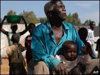 Displaced Kenyans. Mon 4 Feb
