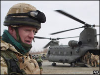 British troops in Afghanistan's Helmand province