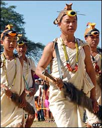 Tribals in north east India