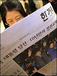 South Korean reader