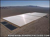 Solar field. Image: Renewableenergyaccess.com