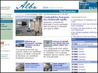 BBC Alba's Naidheachdan site