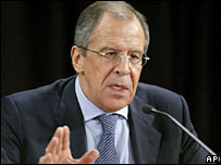 Russian Foreign Minister Sergei Lavrov. File photo