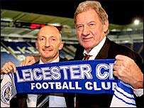 Ian Holloway (l) and Milan Mandaric