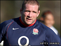 England captain Phil Vickery
