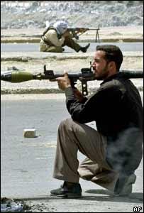 مسلح من جيش المهدي