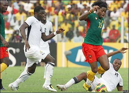 Song takes the ball forward for Cameroon