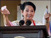 President Gloria Arroyo (file image)