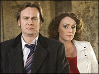 Philip Glenister and Keeley Hawes in Ashes to Ashes