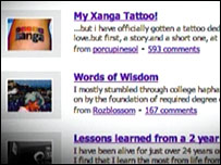 Social networking site Xanga