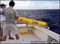 Thermal glider (WHOi)