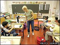 Finnish classroom