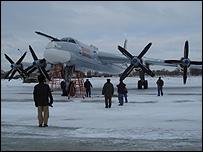 Tu-95 Bear bomber