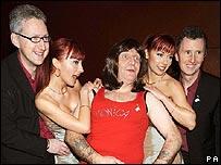 Lembit Opik, Cheeky Girls and Stephen Pound