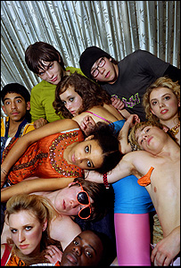 The cast of Skins