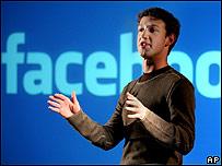 Mark Zuckerberg, fundador y jefe ejecutivo de Facebook.