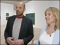 Martha with Peter Doig