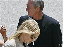 Cate Blanchett and Bryan Brown 
