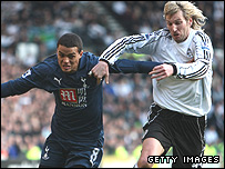 Jermaine Jenas and Robbie Savage