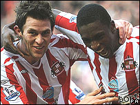 Daryl Murphy (left) and Dickson Etuhu