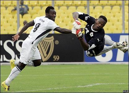 Ghana take the lead