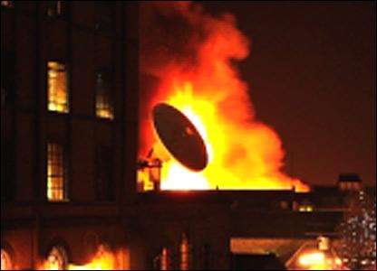 Camden market fire (Nick Pomfret)