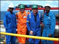 Oil worker Gary Hay