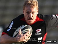 Brent Russell of Saracens