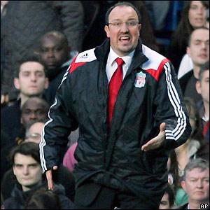 Reds boss Rafael Benitez