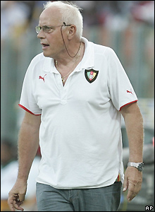 Cameroon coach Otto Pfister