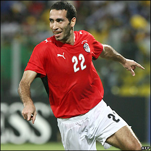 Aboutrika celebrates his goal