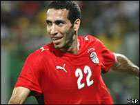 Goalscorer Mohamed Aboutrika