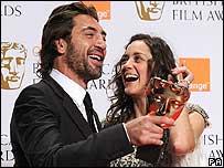 Javier Bardem with Marion Cotillard