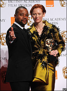 Cuba Gooding Jr and Tilda Swinton
