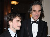 Daniel Radcliffe and Daniel Day-Lewis